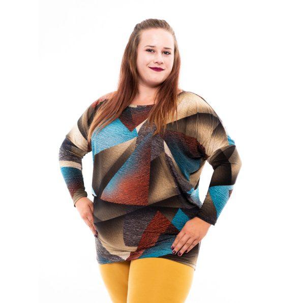 őszi tunika, rucy fashion őszi tunika, denevér fazonú felső, egyedi kényelmes tunika,