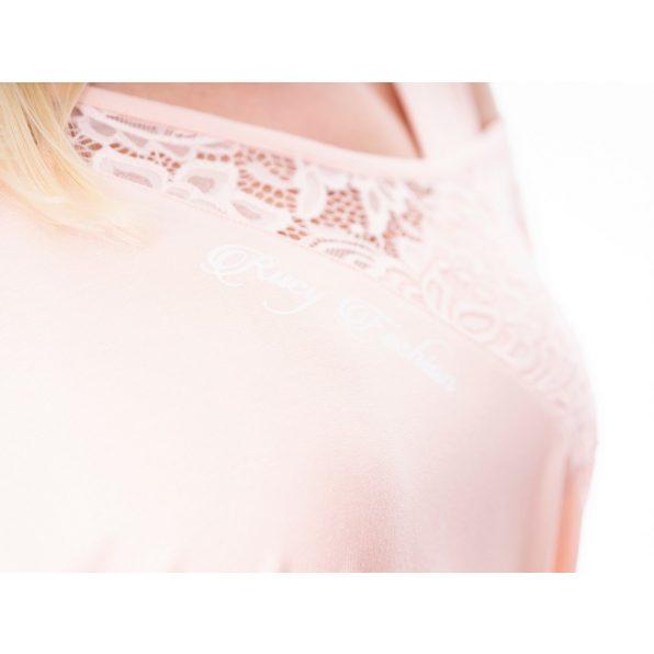 barack színű tunika, tavaszi alkalmi ruha, csipkés tunika, csipke ruha,