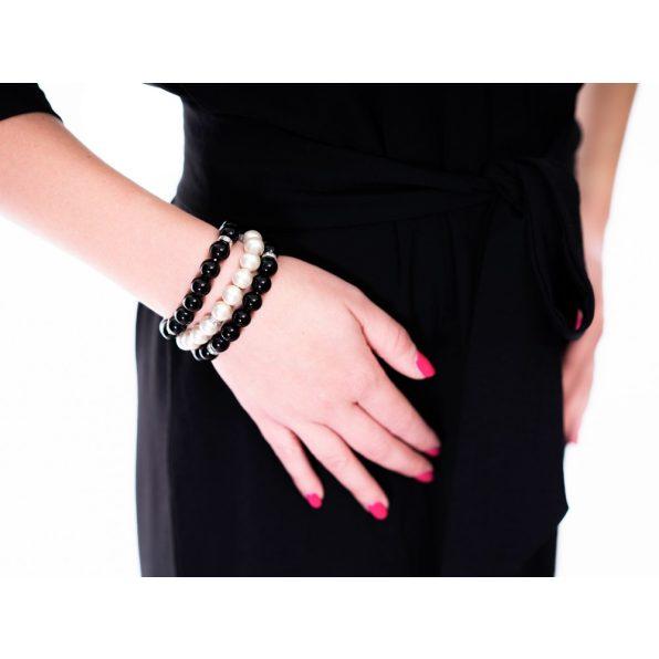 fekete alklami ruha, fekete húzott vállú ruha, tavaszi alklami ruha,randi ruha, kismama alkalmi ruha