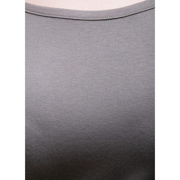 Rucy Fashion hosszú ujjú keki csónak nyakú, denevér fazonú passzés felső logóval