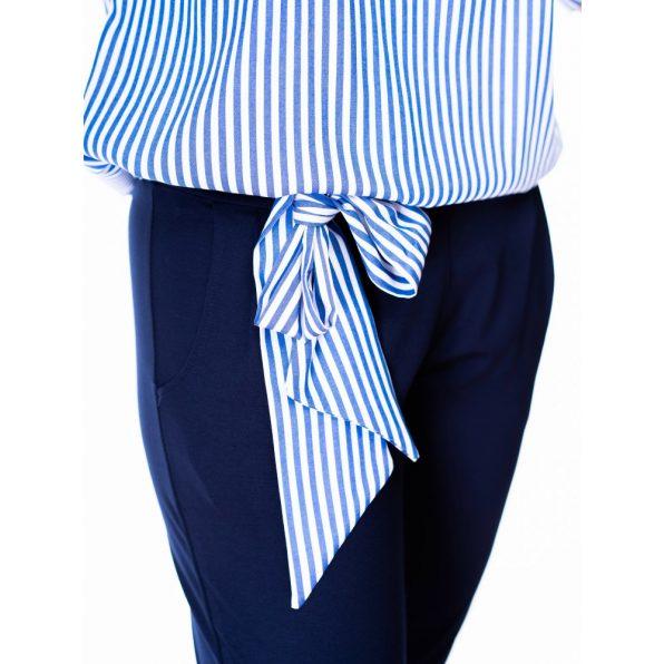 alkalmi overál, rucy fashion overál, kék-fehér csíkos overál, tavaszi overálok,