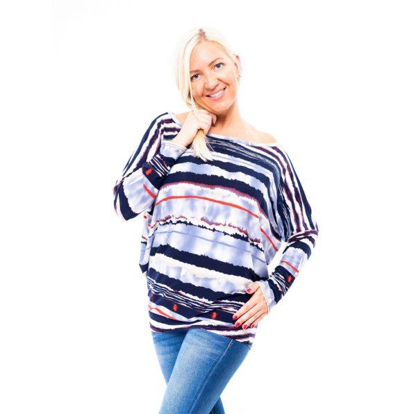 pamutos hétköznapi felső őszre, csinos őszi tunika, divatos őszi női ruha, hosszú ujjú tunika,