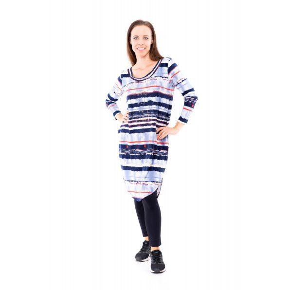 őszi csíkos tunika, zsebes őszi tunika, zsebes ingruha, rucy fashion ingruha,hosszú tunika,