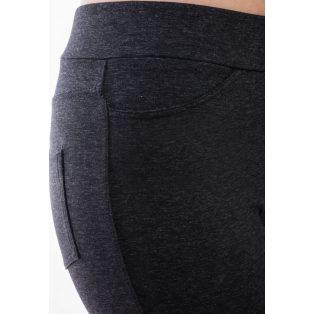 Rucy Fashion antracit szürke, hosszú szárú szűkített fazonú női nadrág/treggings