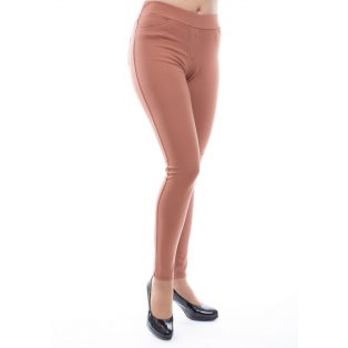 Rucy Fashion rozsda szűkített fazonú hosszú szárú női nadrág/treggings