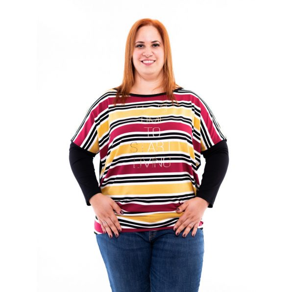 molett tunika, őszi színű plus size ruha, rucy fashion, nagyméretű divatos női tunika